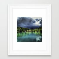 jamaica Framed Art Prints featuring Jamaica  by Lawrence Gregorek