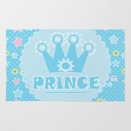 """For the little Prince . From the series """"Gifts for kids"""" . Rug"""