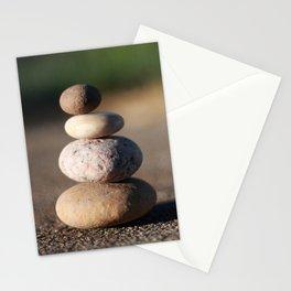 Zen Meditation Stones Stationery Cards