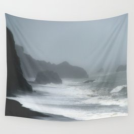 Pacific Northwest Beach Storm Wall Tapestry