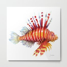 Firefish - lion fish Metal Print