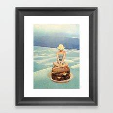 hambesert Framed Art Print