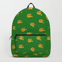 Yellow boxfish Backpack