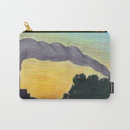 Ash Sunset in the Land of the Midnight Sun Carry-All Pouch