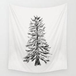 Cedar Tree Wall Tapestry