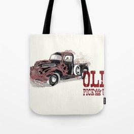 Old pickup Tote Bag