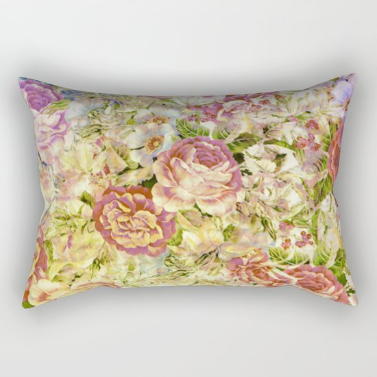 multifloral Rectangular Pillow