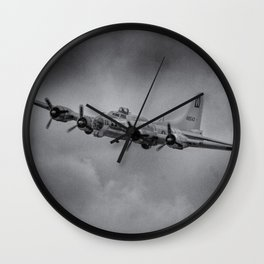 Boeing B-17 Flying Fortress Wall Clock