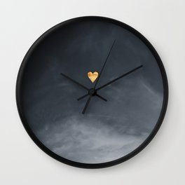 without my enemy - clarity Wall Clock