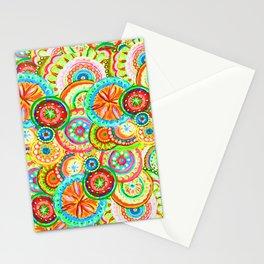 Vibrant Floral Design Stationery Cards