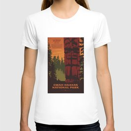 Gwaii Haanas National Park Reserve, National Marine Conservation Area Reserve & Haida Heritage Site T-shirt