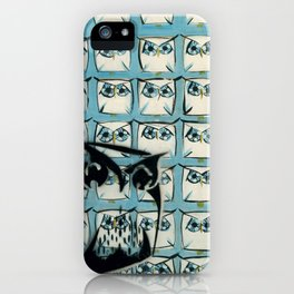 Sea of owls iPhone Case