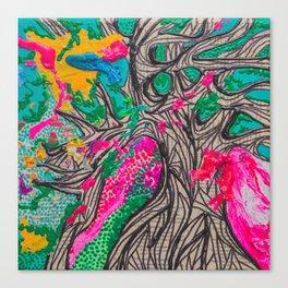 Grow Slow Canvas Print