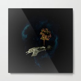 The Sixth Sanctuary in Space Metal Print