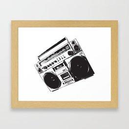 BoomBox! Framed Art Print