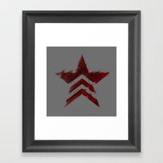 Renegade Interrupt - Mass Effect Framed Art Print