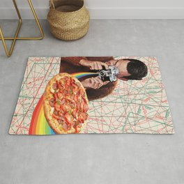 pizza obsession Rug