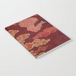 Crimson Clouds Notebook