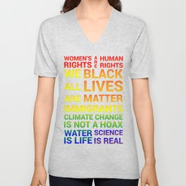 Women's Rights are Human Rights Unisex V-Neck