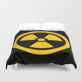 Yellow Radioactive Duvet Cover