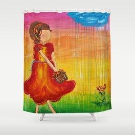 'Jodie' by Jolene Ejmont Shower Curtain