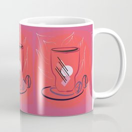 coffee modern Coffee Mug