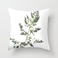 grace Throw Pillows featuring GRACE by Teresa Chipperfield Studios
