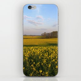 Blooming in yellow 4 iPhone Skin
