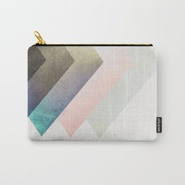 Geometric Layers Carry-All Pouch