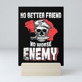 Police K9_ No Better Friend... Mini Art Print