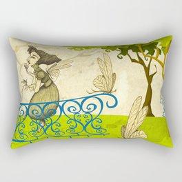 Women Of The Dragonflies Rectangular Pillow