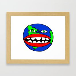 Goons World Framed Art Print