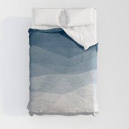 Imperial Topaz - Geometric Triangles Minimalism Comforters