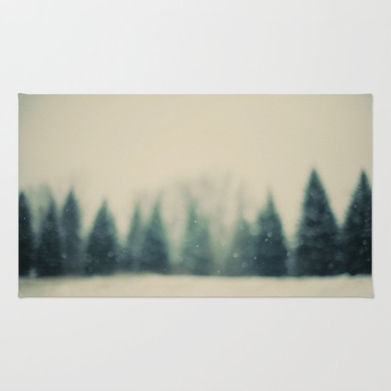 Frost and Fir Rug