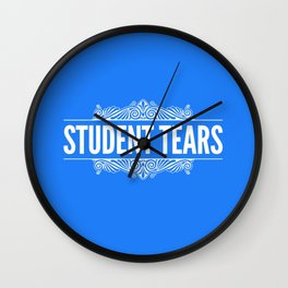 Student Tears Wall Clock