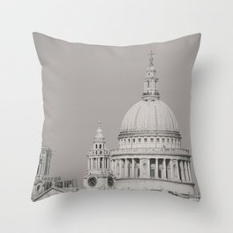 St. Pauls Cathedral London Throw Pillow