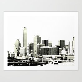 The Dallas storyline Art Print
