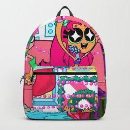 TV Show Teen Titans Go! Teen Titans Christmas Robi Backpack