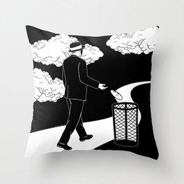 I'm Nobody Throw Pillow