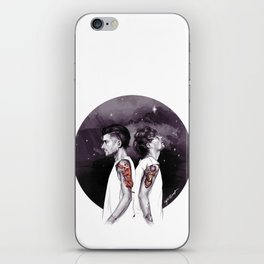 The Tiger and The Stag iPhone Skin