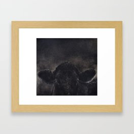 Tinsi cow Framed Art Print