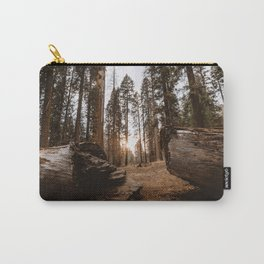Light Between Fallen Sequoias Carry-All Pouch