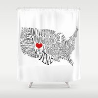 colorado Shower Curtains featuring Colorado by Taylor Steiner