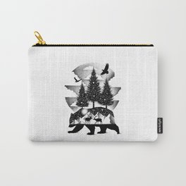 A NIGHT IN ALASKA Carry-All Pouch