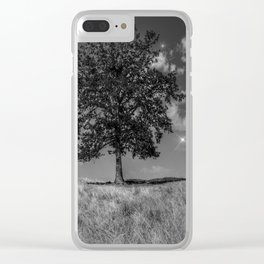 Night and Day Clear iPhone Case