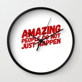 Be A Role Model Wall Clock