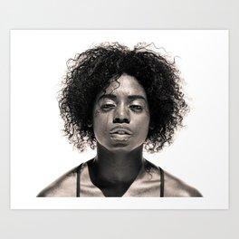 Natasha - Dancer Series 1 Art Print