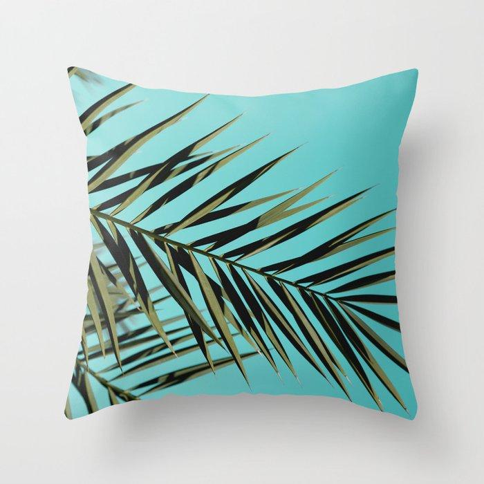 Palm Tree Craze Throw Pillow