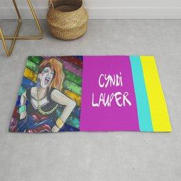 True Colors- Cyndi Lauper  Rug