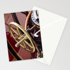 Brass steering wheel Stationery Cards